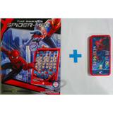 Tablet E Celular Educativo Interativo Brinquedo Homem Aranha