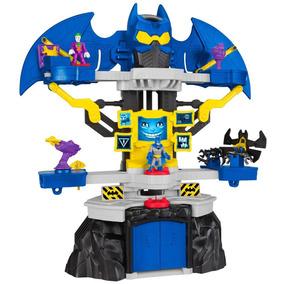 Imaginext - Liga Da Justiiça - Mega Batcaverna