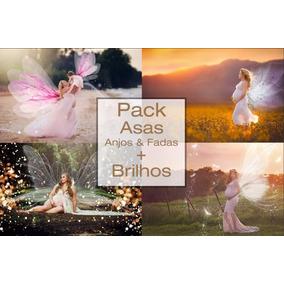 1600 Efeitos + Pack De Asas + 300 Sparkles + 100 Backdrops