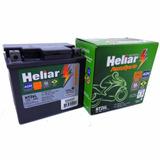 Bateria Moto Heliar Htz6 Biz C100 Original Honda Promoção