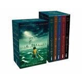 Box Livros - Coleção Percy Jackson E Os Olimpianos - 5 Volum