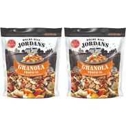 6 X Granola Jordans Tropical + 4 Nuts + 4 Red Fruits