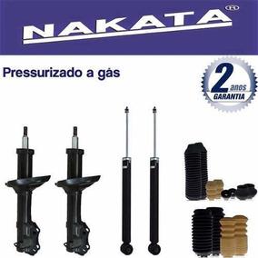 Jogo 04 Amortecedor Nakata Golf Sapão 2001 2002 2003 + Kit