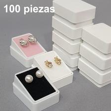 100 Cajas Plástica Para Broqueles 803