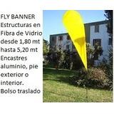 Fly Banner Estructuras De Fibra De Vidrio