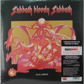 Lp Black Sabbath Bloody Sabbath Importado 180gr Lacrado
