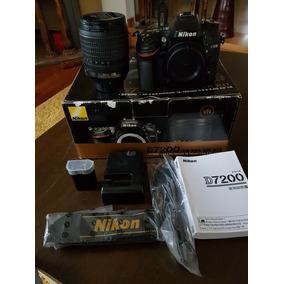 Nikon D7200 Con 18-105 Vr Impecable