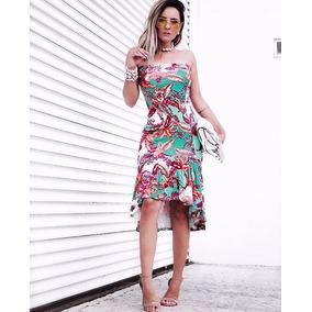 Vestido Tomara Que Caia Midi Babado Verao 2018 Blogueiras