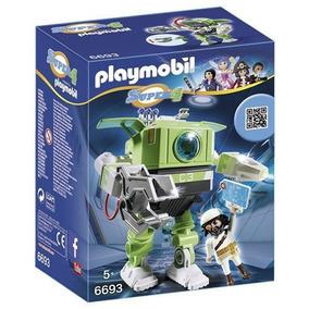 Playmobil 6693 Super 4 Robot Cleno Jugueteria Bunny Toys