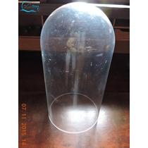 Redoma Cupula Acrilico 14 X 25 Antiga Usada Sem Trincas