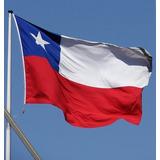 Bandera Chilena Excelente Calidad 200x300 Cm / Promoferta