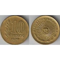 Moneda 10 Peso Año 1977 Argentina Km# 72