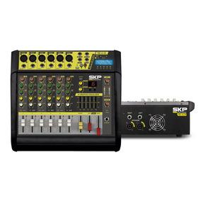 Consola Potenciada Skp Vz60 Ii 6 Canales 400w Rms Eq 5 Ba