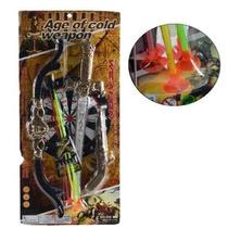 Brinquedo Arco Flecha + Espada E Pistola Infantil / 9089