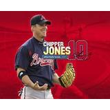 Mls Atlanta Braves Chipper Jones #10 En Azul Marino