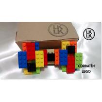 Corbatín Moño Caballero Traje Camisa Lego