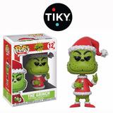 Funko Pop The Grinch Navideño Santa Claus Navidad Nuevo