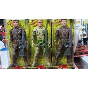 Soldado De Juguete 27 Cm Varios Modelos Biró Mendoza