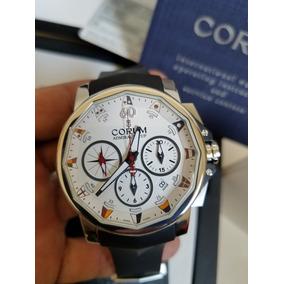Reloj Corum Admirals Cup Chrograph Fullset Caja Y Papeles
