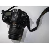 Camara Nikon D90 Con Lente Buen Estado