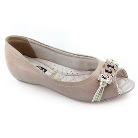 Sapatilha Peep Toe Comfortflex - 1676403 -