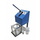 Empacotadora Semi-automática Embalando Pipoca Doce.