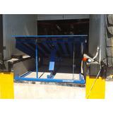 Niveladora De Anden Rampa, Hidraulicas Mecanicas, Fosa, Dock
