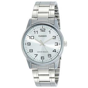 Relógio Casio Masculino Social V001-7b Inoxidavel Wr30m