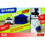 Set Playero Carpa 3h 2x3 Alumi Techo 3 Paredes Estacas Qpg