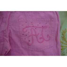 Pantalon Para Niña De Lino Y Algodon Importado