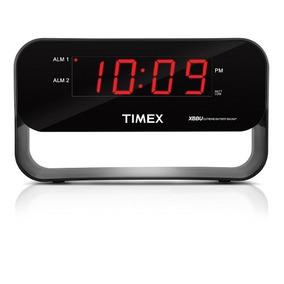 Timex Audio T128b Dual Alarm Clock With Usb Charging Night-l