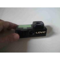 7856 Maquina Fotográfica Love C/protetor Original