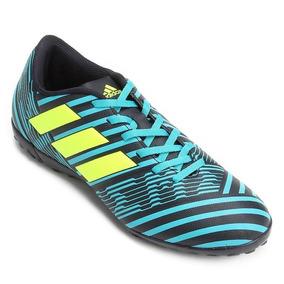 Chuteira Nemezis Azul - Chuteiras Adidas para Adultos no Mercado ... e336fc61ca380