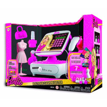 Caja Registradora Barbie Boutique Con Accesorios Y Visor