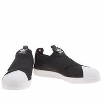 Tênis Adidas Elástico Superstar Slip On Orig(thassia Naves)