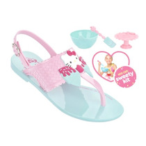 20% Off Sandália Infantil Hello Kitty Brinde Cupcake Clique+