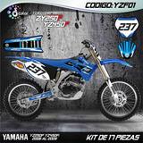 Kit Calcomanias Motocross Yamaha Yz 125/250 - Yz 250f/450f