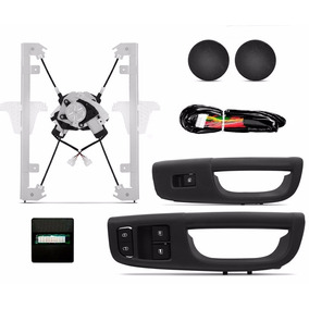 Kit Vidro Eletrico Gol G6 2013 2 Portas Com Modulo