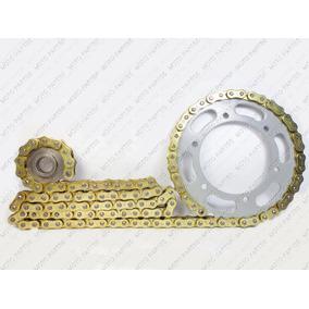 Kit Relação Transmissão Corrente Gold C/retentor Fazer 250