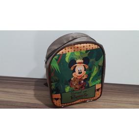 Mochila Personalizada Safari Do Mickey