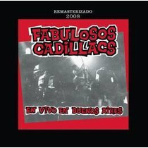 Fabulosos Cadillacs En Vivo En Bs As Remaster 2008 Cd Nuevo