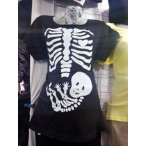 Playera Maternidad Modelo Radiografia Por Talla