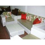 Muebles En Mimbre Y Ratan,salas,comedores,camas Y Aux