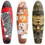 Shape P/ Skate Cruiser Vários Desenhos- Barato + Lixa Grátis