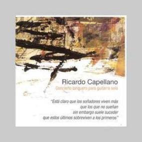Capellano Ricardo Concieerto Tanguero Para Guitarra Cd Nuevo