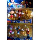 Set Muñecos Mickey Mouse Club House X 6
