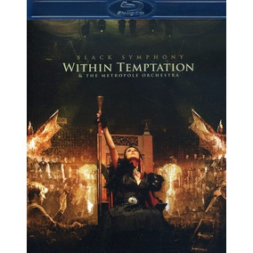 Within Temptation - Black Symphony - Blu Ray + Dvd, Importad