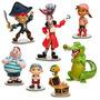 Capitán Jake Y No Piratas De Tierra Figura Play Set