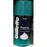 Gillette Foamy Piel Sensible Espuma De Afeitar X 322ml