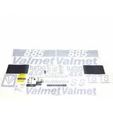 Decalque Faixa Adesiva Trator Valtra Valmet 885 4x4 Turbo